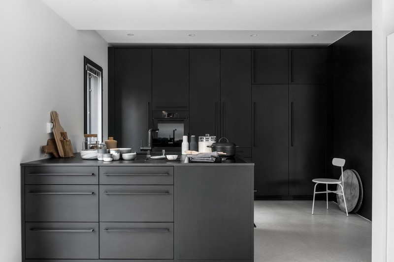 BEAUTIFUL BLACK KITCHEN北欧家居