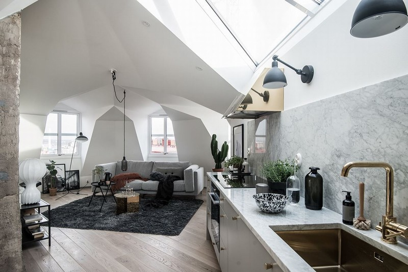 BEAUTIFUL ATTIC HOME北欧家居设计